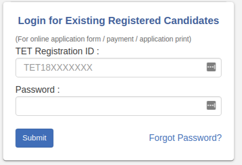 Mahatet Admit Card Download 2018