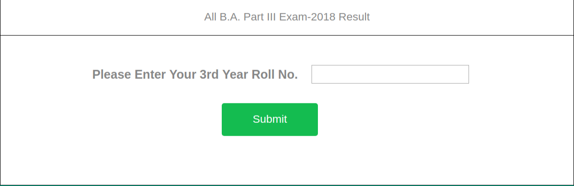 Raj Rishi Matsya University, Alwar Third Year B. A result 2018