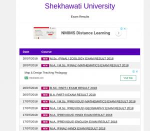 shekhawati University