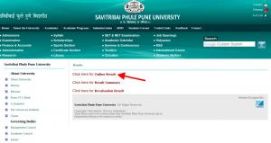sppu online result