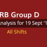 RRB Group D Exam Analysis 19 September 2018