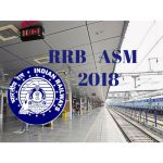 RRB ASM Recruitment 2018
