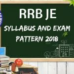 RRB JE Syllabus and Exam Pattern 2017-18