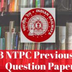 RRB NTPC Previous Years Question Papers