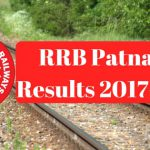 RRB Patna Results 2017-18