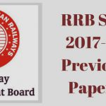 RRB SSE 2017-18 Previous Papers
