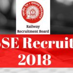 RRB SSE Recruitment 2018