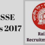 RRB SSE Results 2017