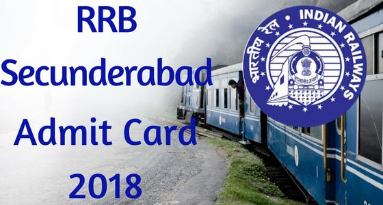 rrb secunderabad group d exam date 2018 hall ticket download