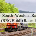 South-Western Railway (RRC Hubli) Recruitment