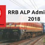 RRB ALP Admit Card 2018 (CEN 01/2018)