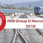 RRB CEN 02/2018 Group D Recruitment Notification