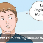 Steps To Recover Your Lost RRB Registration Number