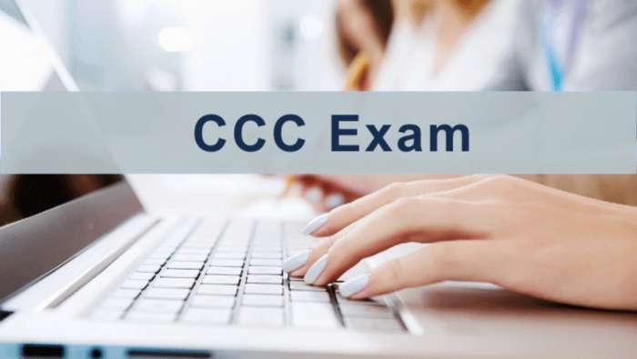 CCC Syllabus 2018