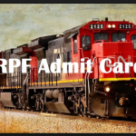 RPF Admit Card 2018