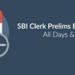 SBI Clerk Pre Exam Analysis