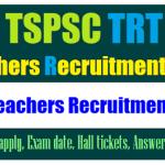 TSPSC TRT SGT Merit List 2018