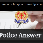 Up Police answer key 2018