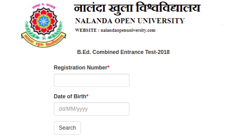 Bihar Bed Admit Card Released