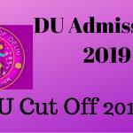 DU Cut off 2019
