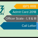 IBPS RRB Pre Admit Card 2018