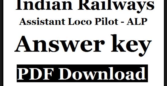 alp answer key