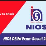 nios deled result