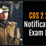 UPSC CDS 2 2018 Notification