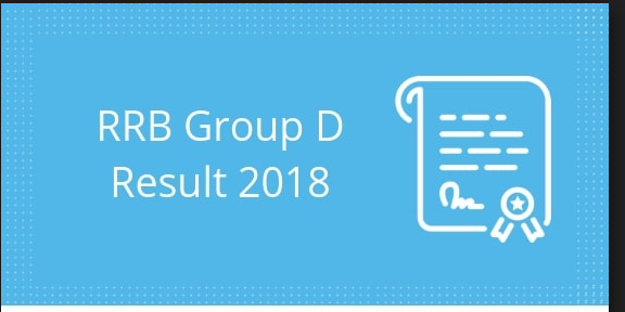 Railway Group D Result 2018 Download