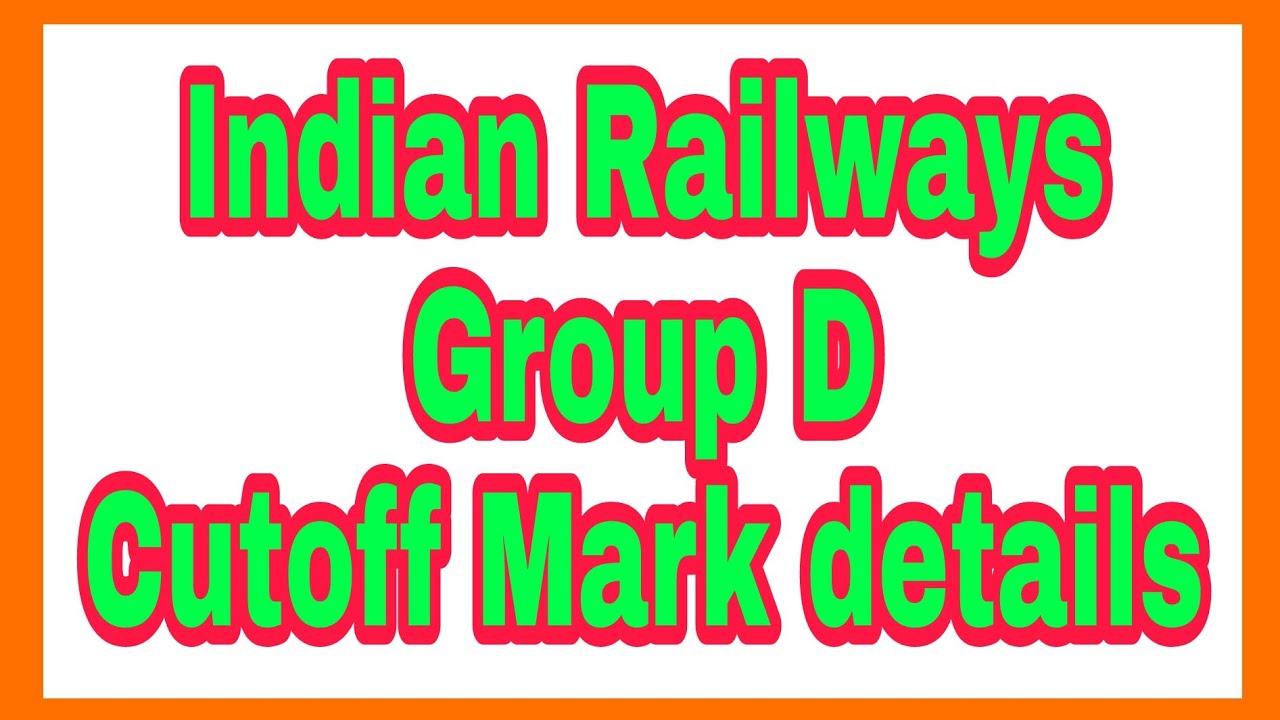 Railway Group D Mumbai Cut off 2018 Details