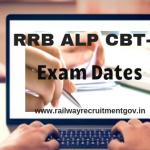 RRB ALP CBT 2 Exam date 2018