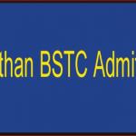 Rajasthan BSTC 2019 Admit Card Download