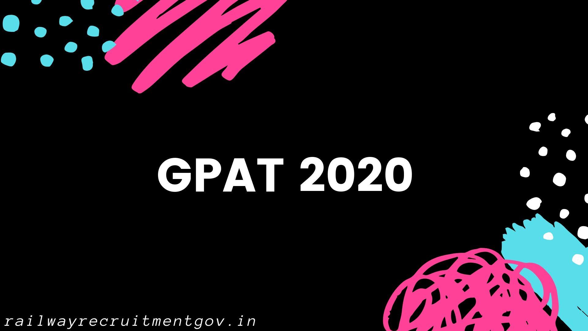 GPAT 2020