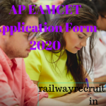 AP EAMCET Application Form 2020