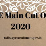 jee main cut off 2020