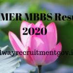 JIPMER MBBS Result 2020