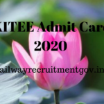 KITEE Admit Card 2020