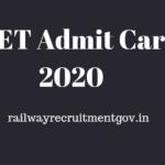 PTET Admit Card 2020